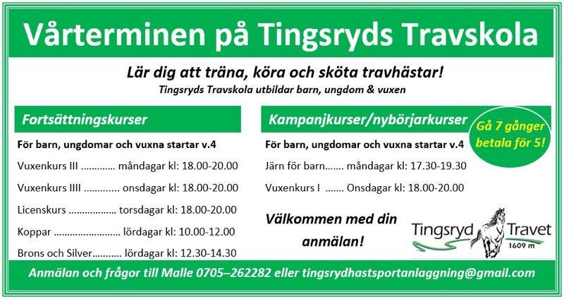 Travskola i Tingsryd