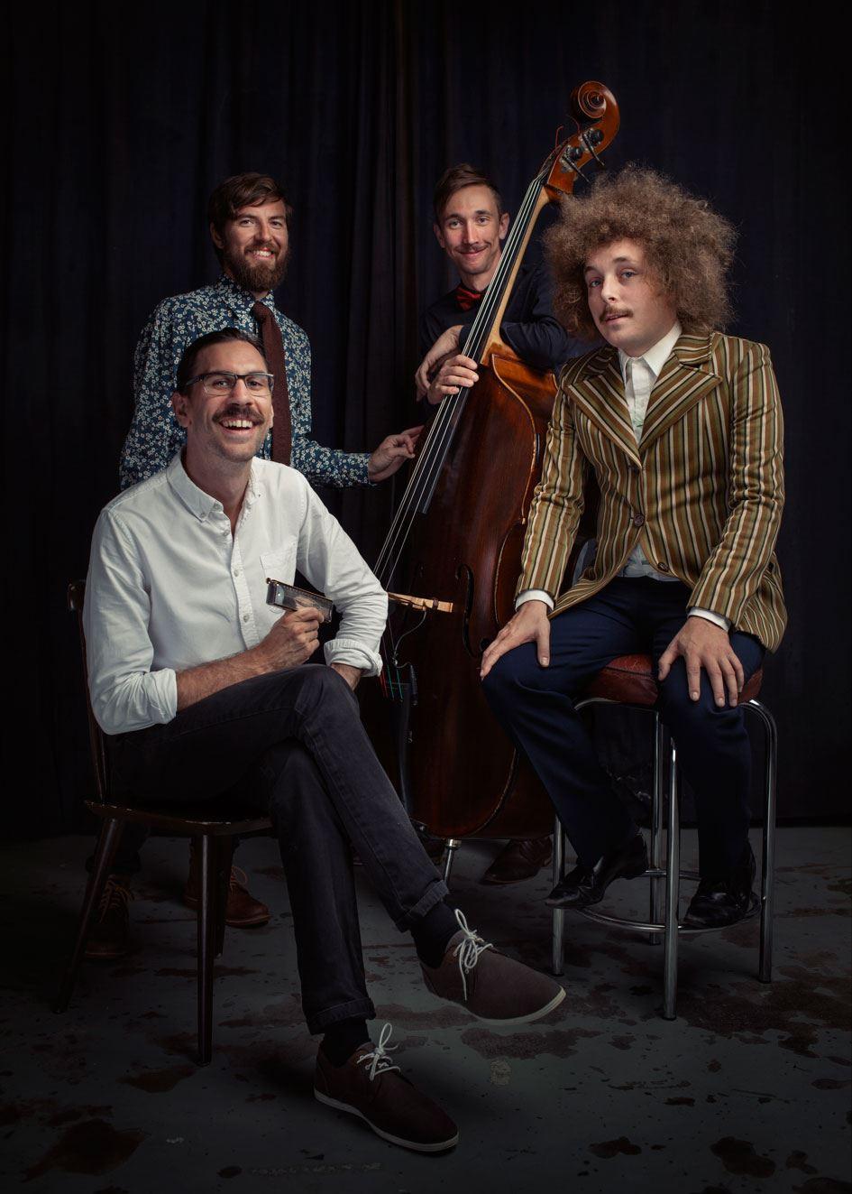 Jazz med Filip Jers Kvartett.