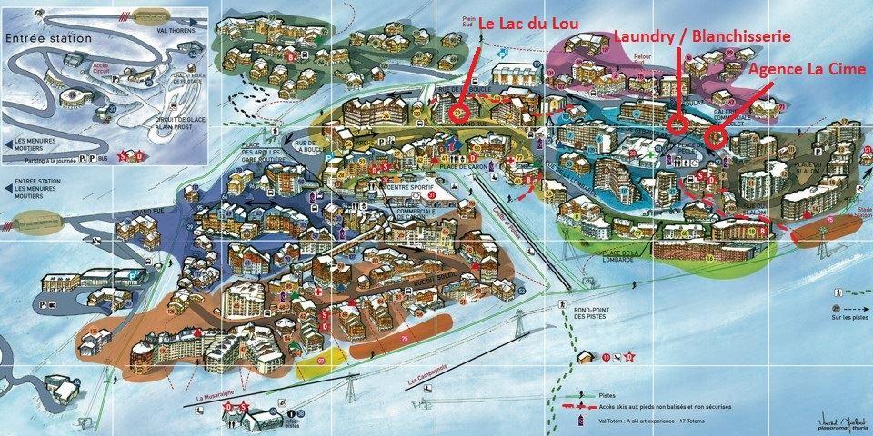 LAC DU LOU 208 / STUDIO 4 PERSONNES - CI