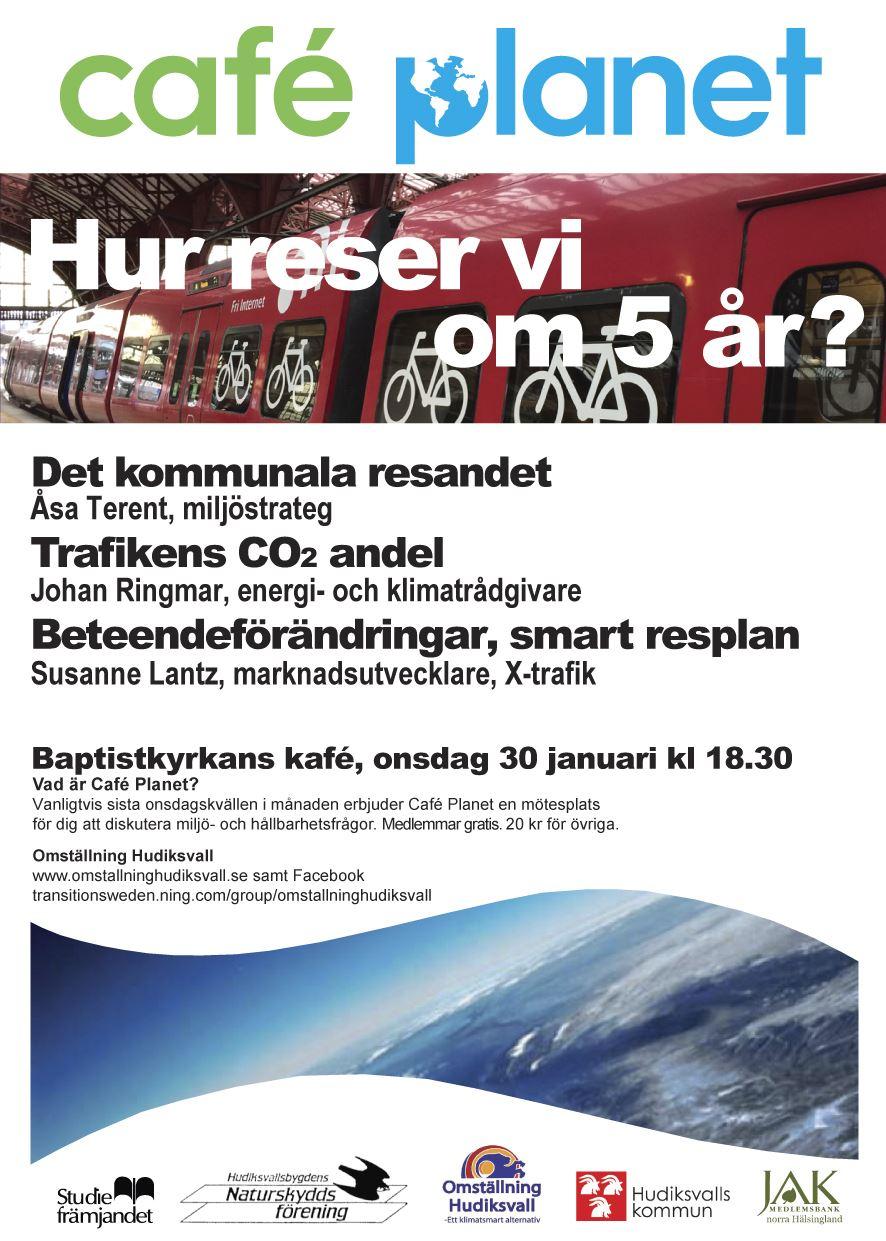 Göte Bohman,  © Omställning Hudiksvall, resande i kommun och region