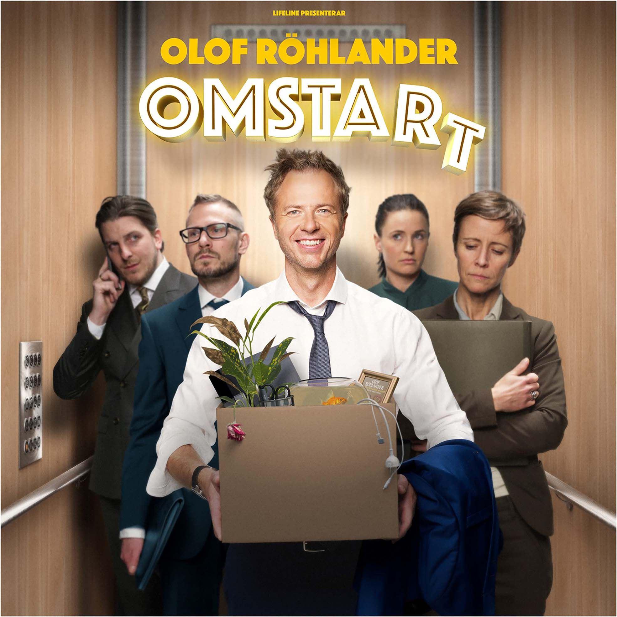 Omstart - Olof Röhlander