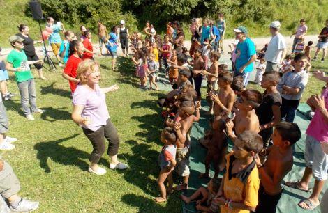 Ligias resa bland romer i Rumänien