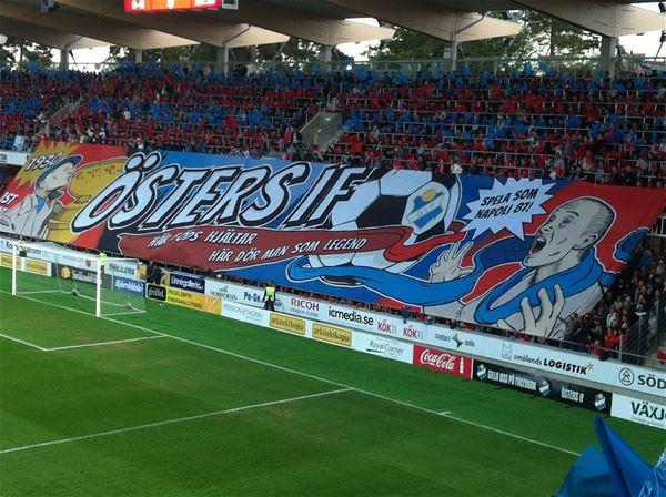 Fotboll: Östers IF - Syrianska FC