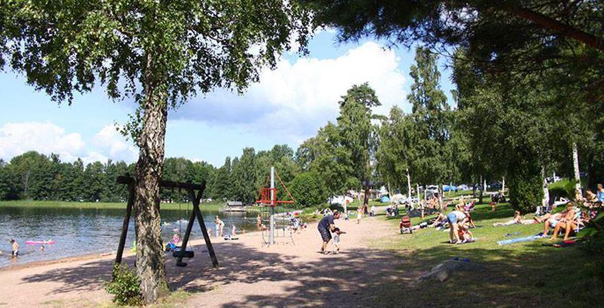 Poppisloppis på Vimmerby Camping