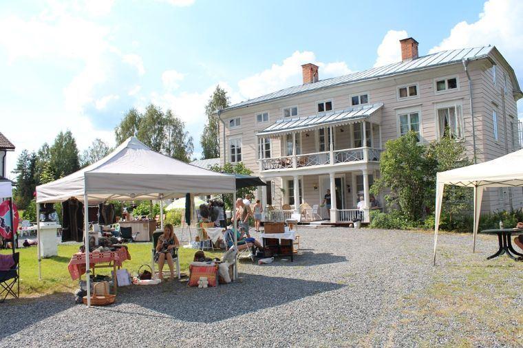 Marknad vid Svabensverks Herrgård
