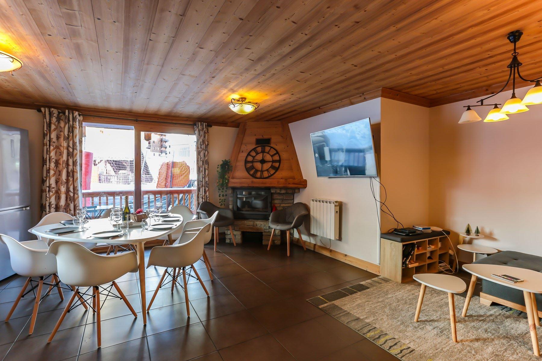 SABOT DE VENUS 04 / APARTMENT 4 ROOMS 6 PERSONS - 5 GOLD SNOWFLAKES - ADA