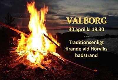 Valborgsmässofirande i Hörvik