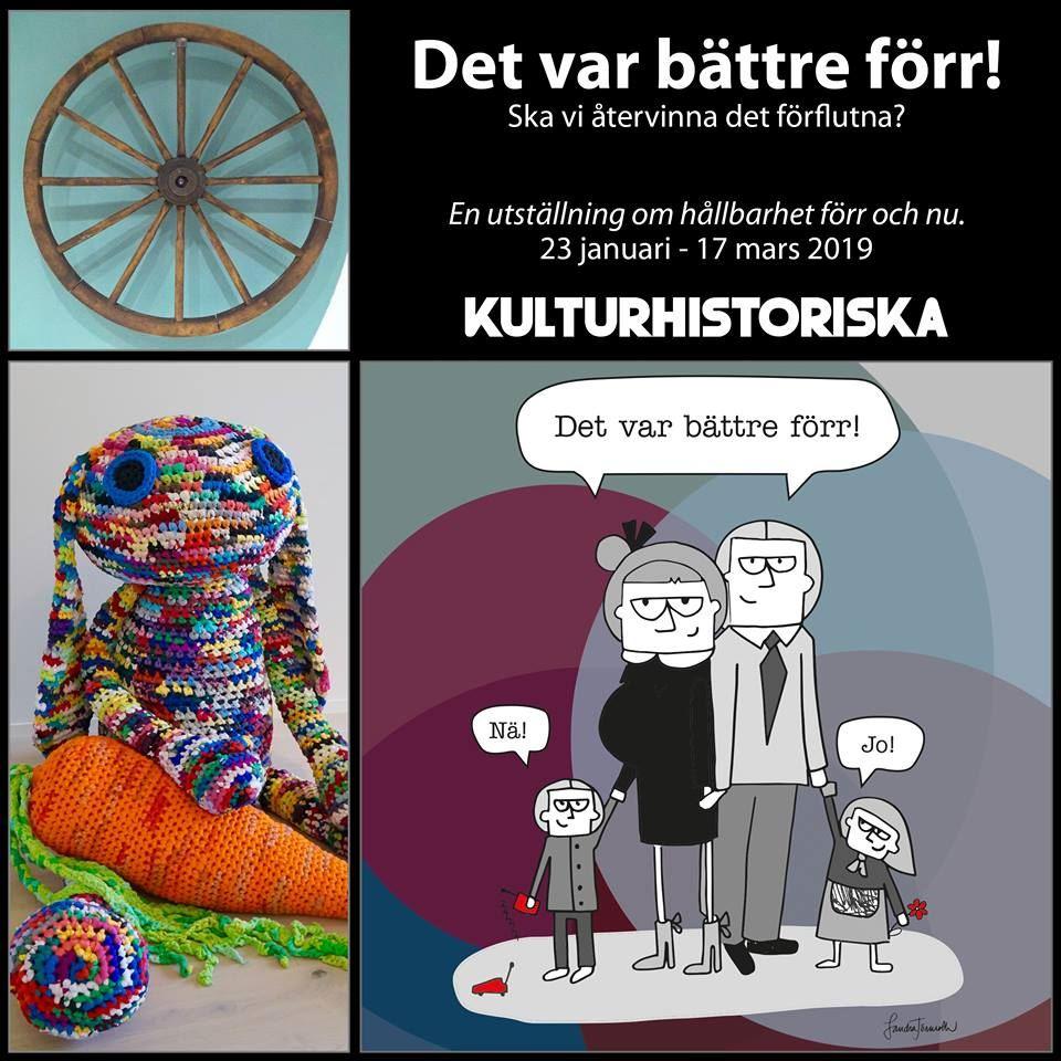 Utställning på Ålands kulturhistoriska museum: Det var bättre förr!