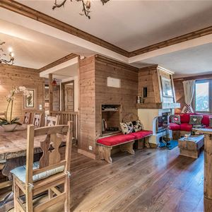 6 rooms 8 people Ski in ski out / CHALET BULLE DE NEIGE (Mountain of Charm)