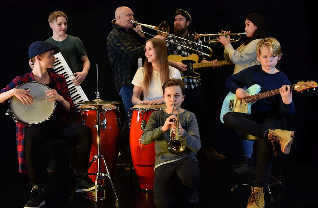 © Copy; Jazz i Jemtland, Jazz i Jemtland - Joy Spring 2019 - Östersunds Kulturskola