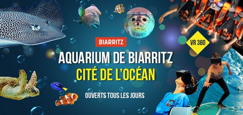Biarritz Ocean: Aquarium Biarritz + Cité de l'Océan (Ocean World)