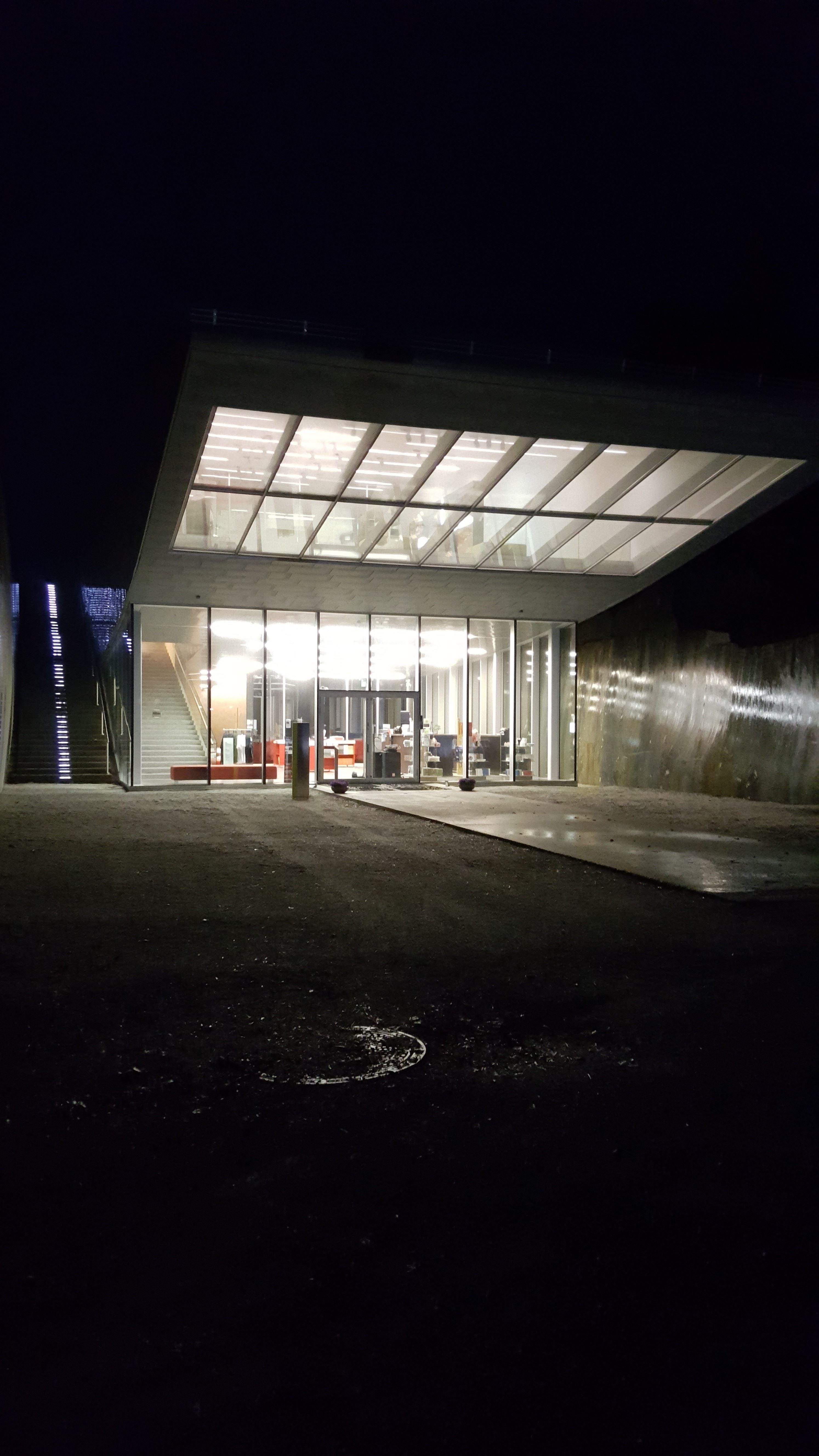 Petter Dass-museet , Petter Dass-museet en vinterkveld