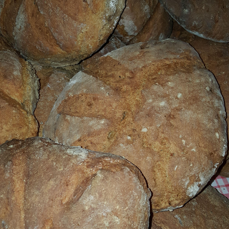 Petter Dass-museet , Eldhusets brød fra bakstovn