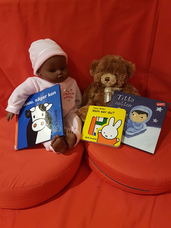 Kryp-in-på biblioteket - Småbarnsramsor