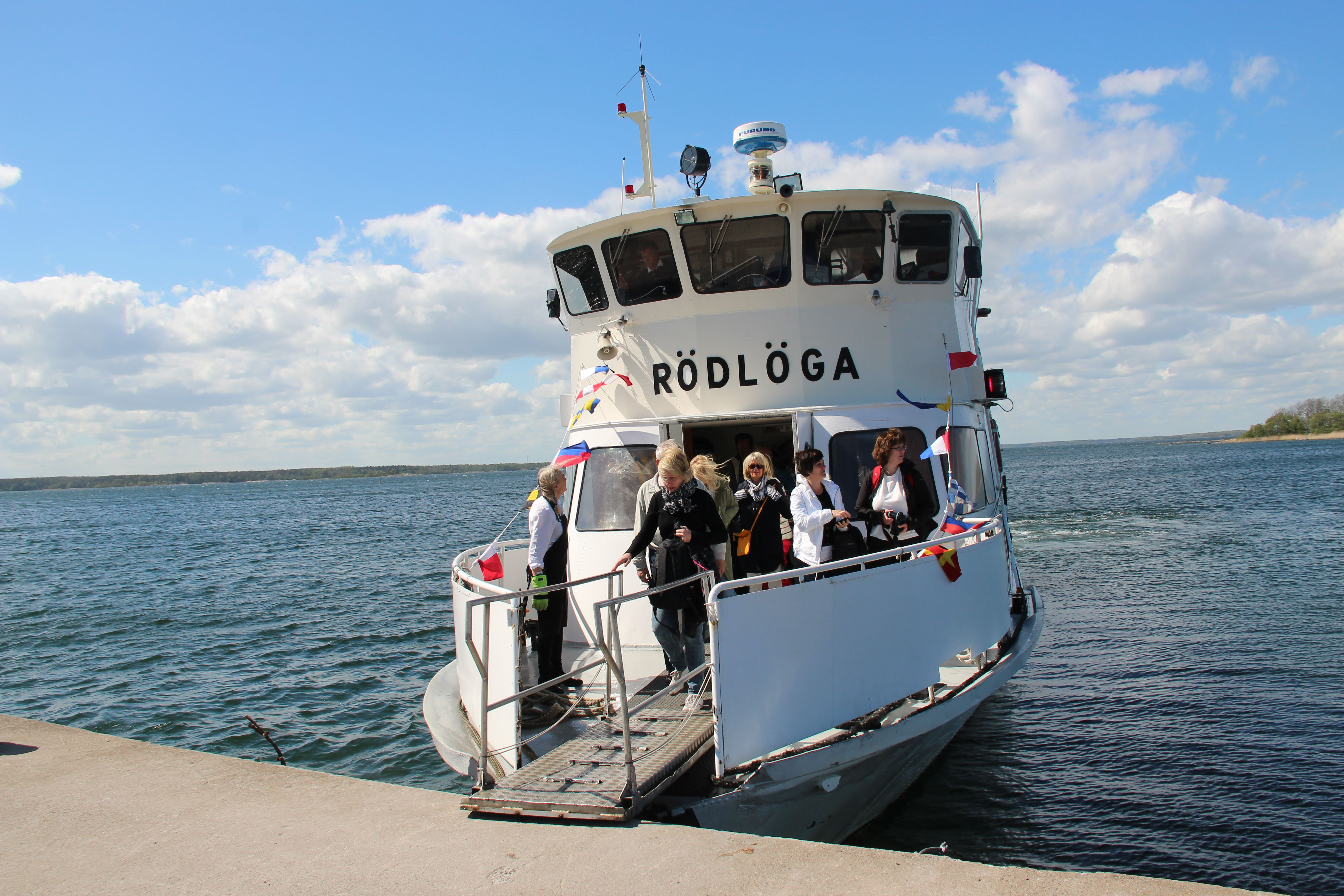 Roslagens kust och skärgård (guidad båttur)