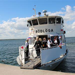 Mellersta Roslagens skärgård - guidad båttur