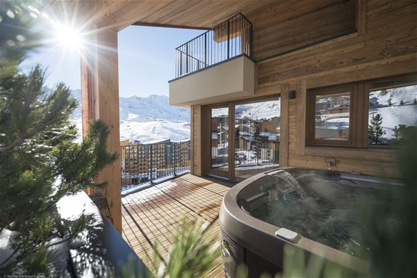 RESIDENCE LES CHALETS COCOON*****