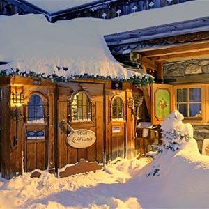 3 pièces 4 personnes skis aux pieds / Appartement L'aiguille du Fruit (Montagne de charme) .