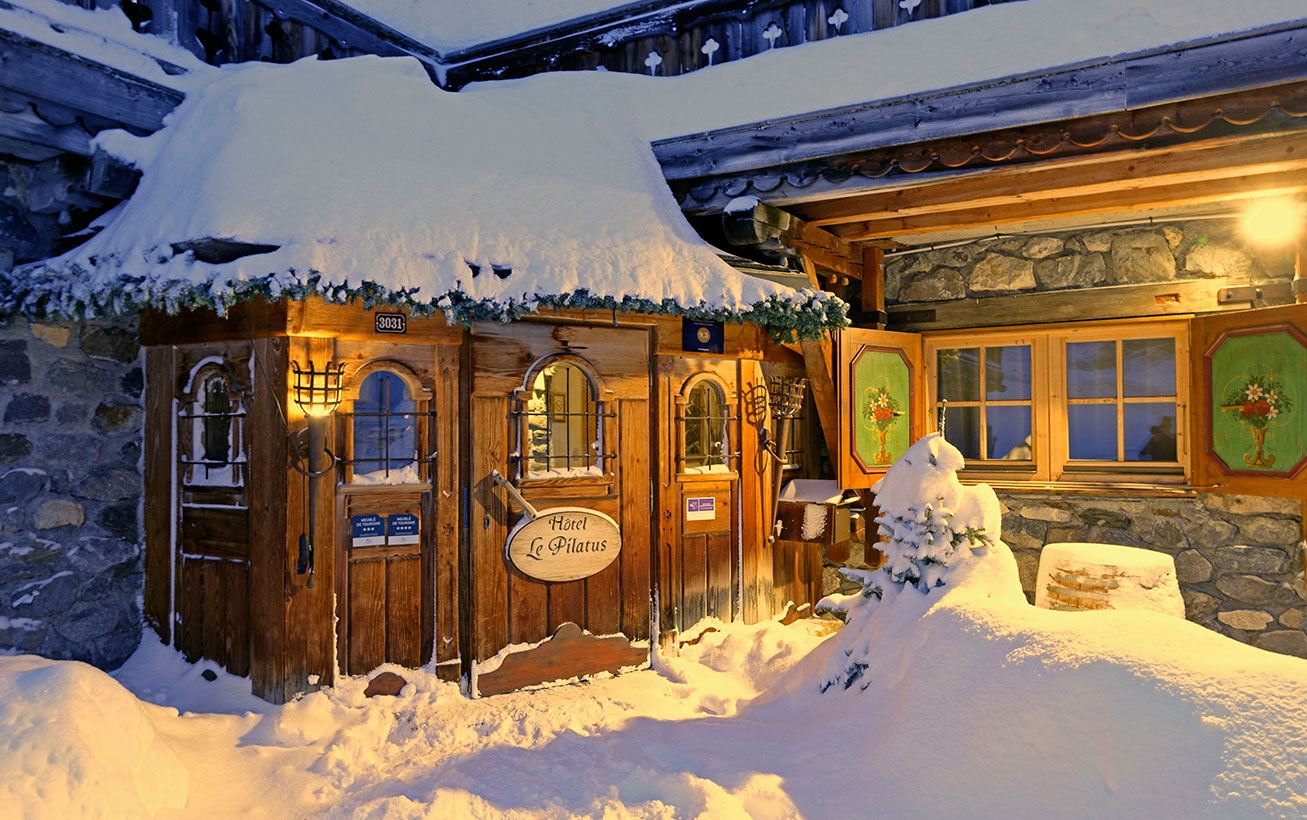 3 rooms 4 persons ski-in ski-out / Apartment Le Grand Mont (Mountain of charm)