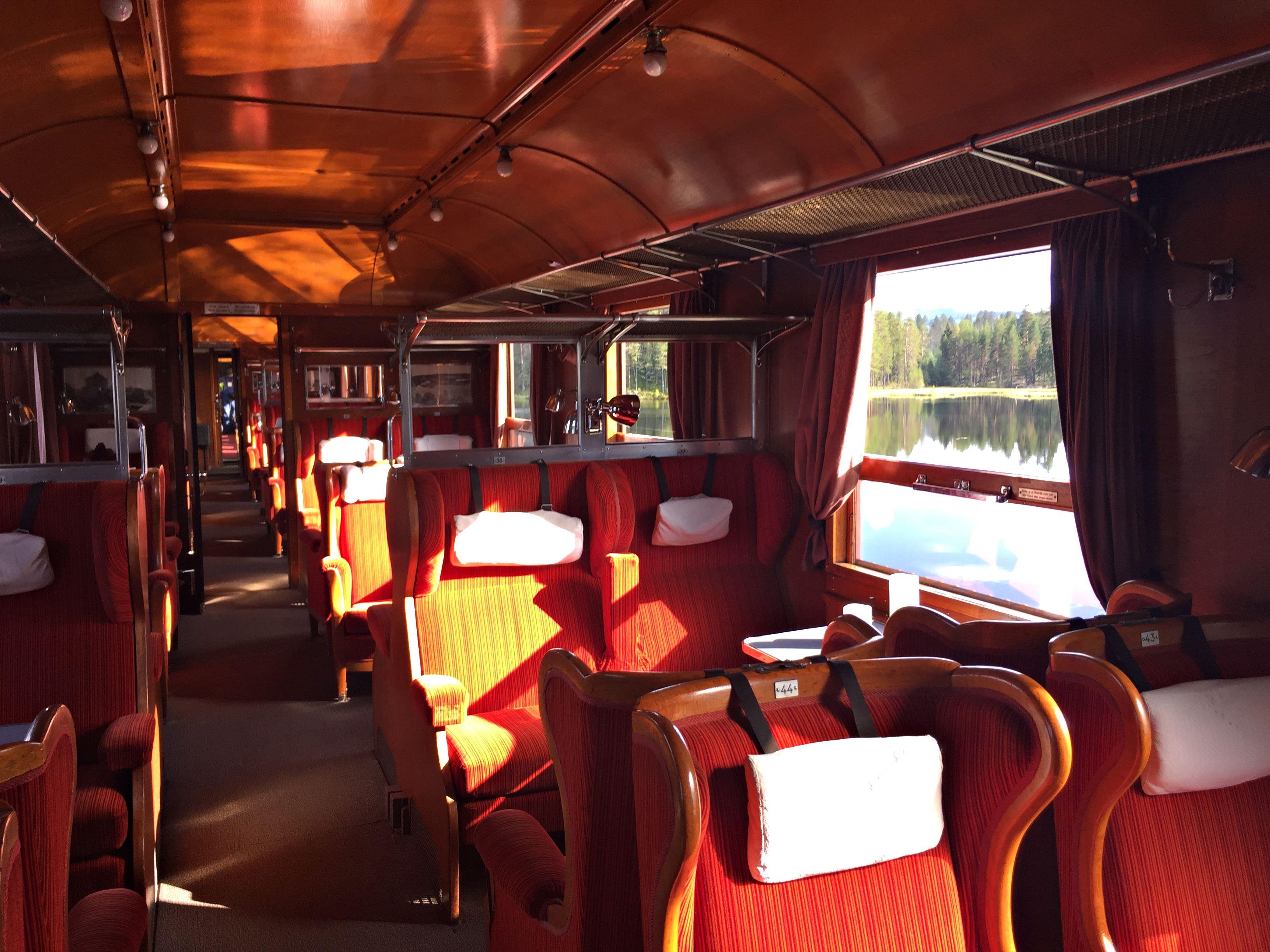 © Järnvägsmuseet, Res i stil med våra historiska tåg