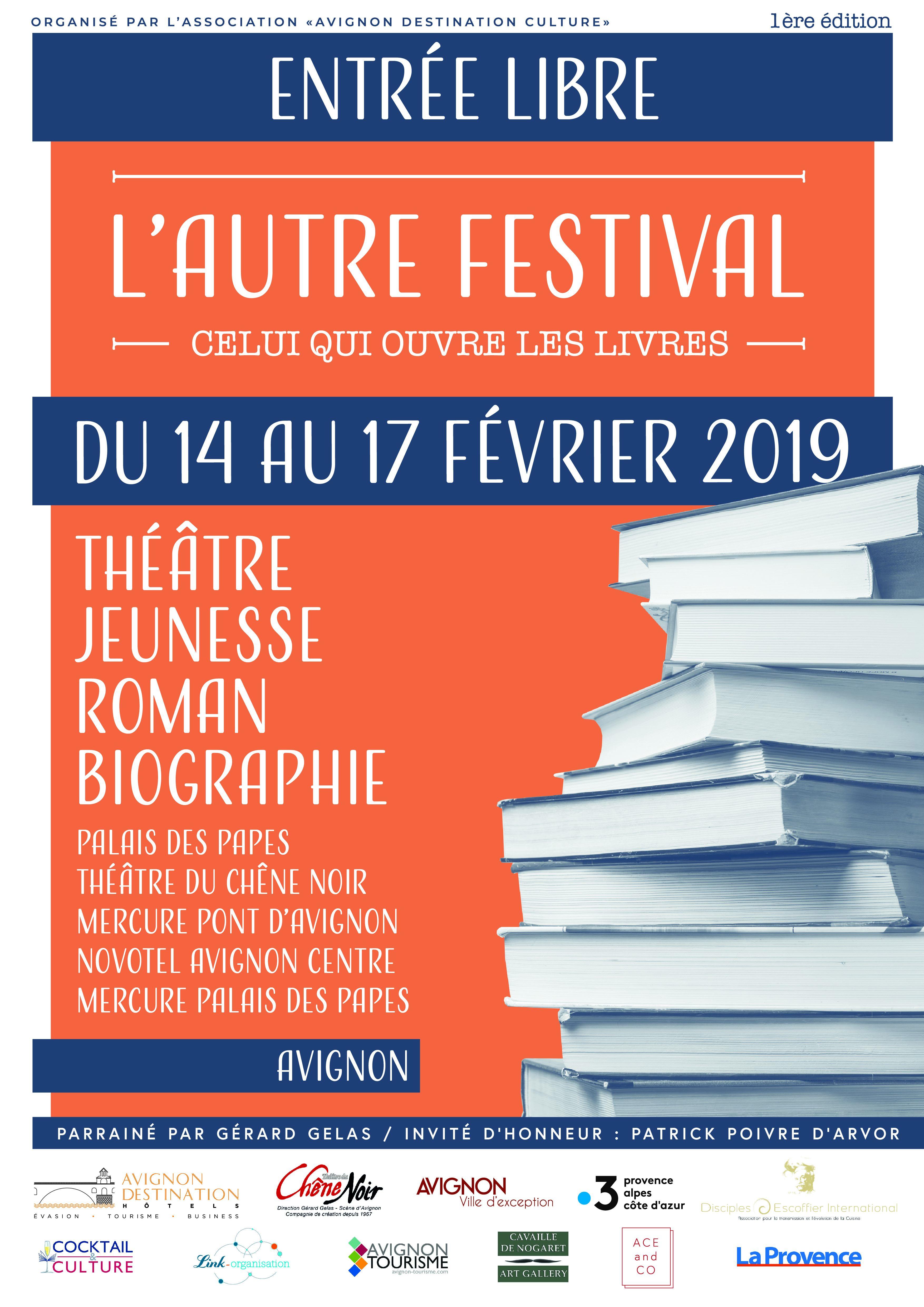 L'Autre Festival: le festival qui qui ouvre les livres - Trois soirées exceptionnelles