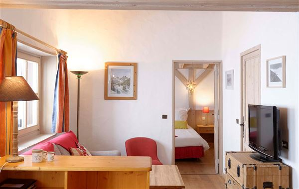 2 rooms 2 persons ski-in ski-out / Apartement La Pointe Percée (Mountain of charm)