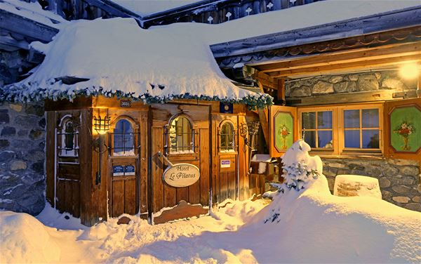 2 pièces 2 personnes skis aux pieds / Appartement La Pointe Percée (Montagne de charme) Petit déjeuner inclus