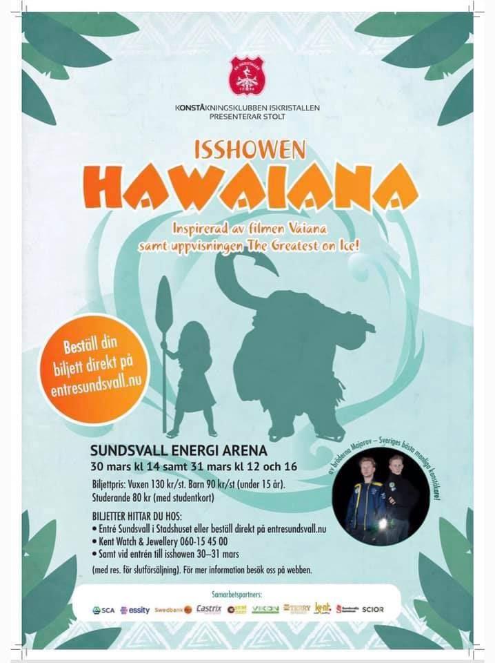 Hawaiana  Gäståkare: Alexander och Nikolaj Majorov