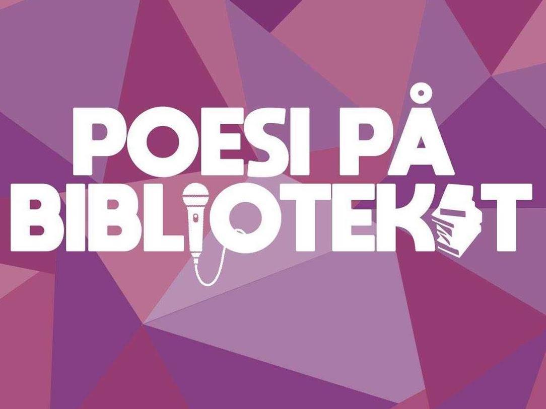 Poesi på biblioteket i Sandviken