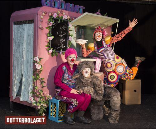 Clownföreställning - Hunden