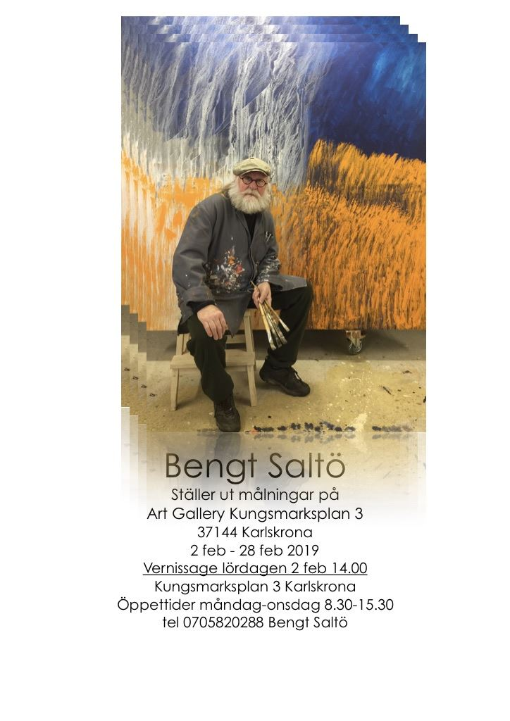 Vernissage: Bengt Saltö