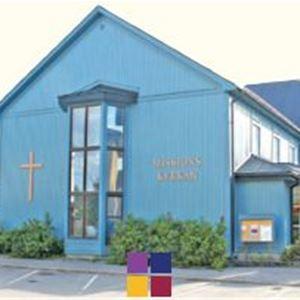 Blå kyrka.