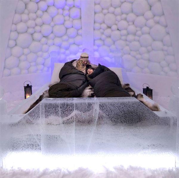 Ice Hotel Overnight