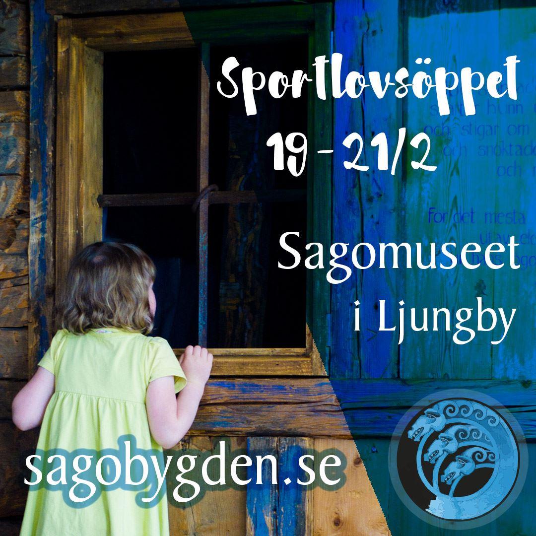 Extra sportlovsöppet på Sagomuseet i Ljungby