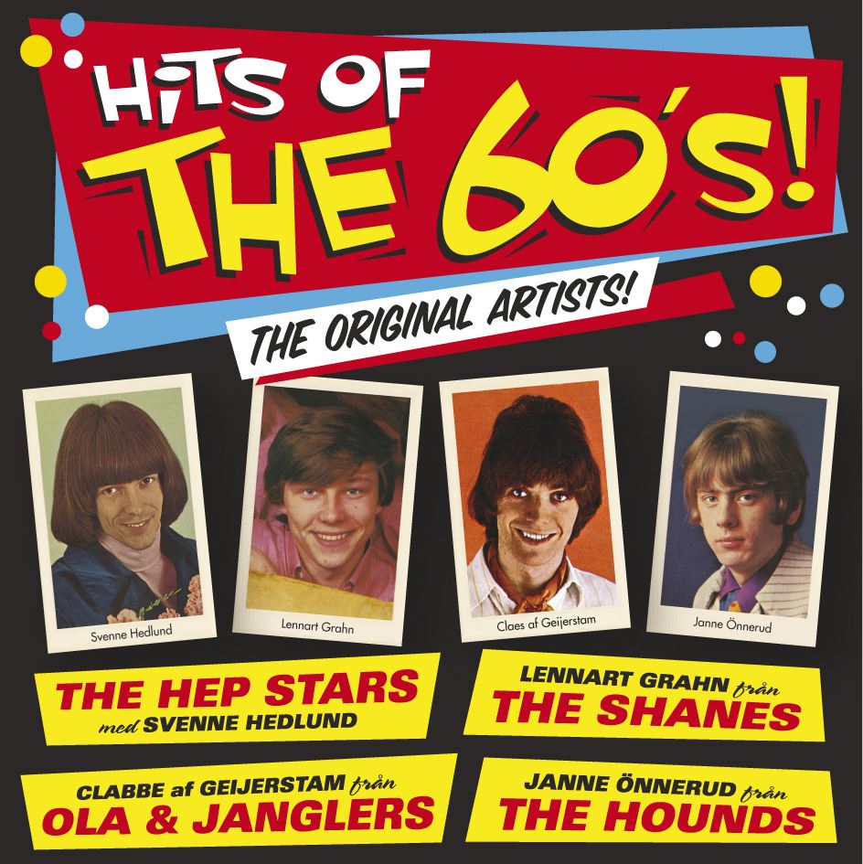 """HITS OF THE 60´s """"THE ORIGINAL ARTISTS"""""""