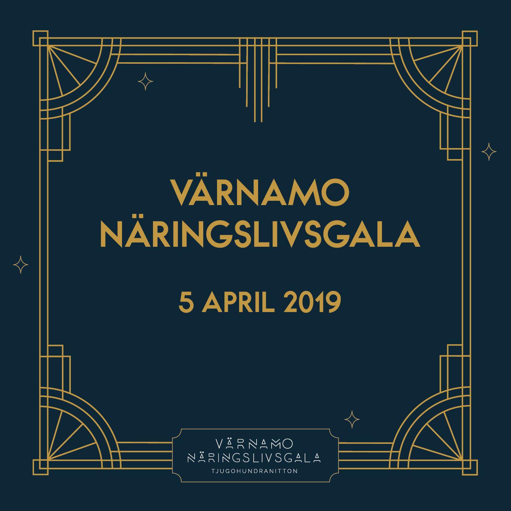 VÄRNAMO NÄRINGSLIVSGALA 2019