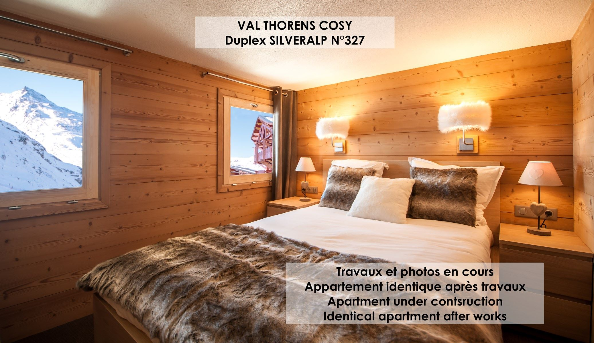 SILVERALP 327 / APARTMENT 4 ROOMS 6 PERSONS - 4 GOLD SNOWFLAKES - ADA
