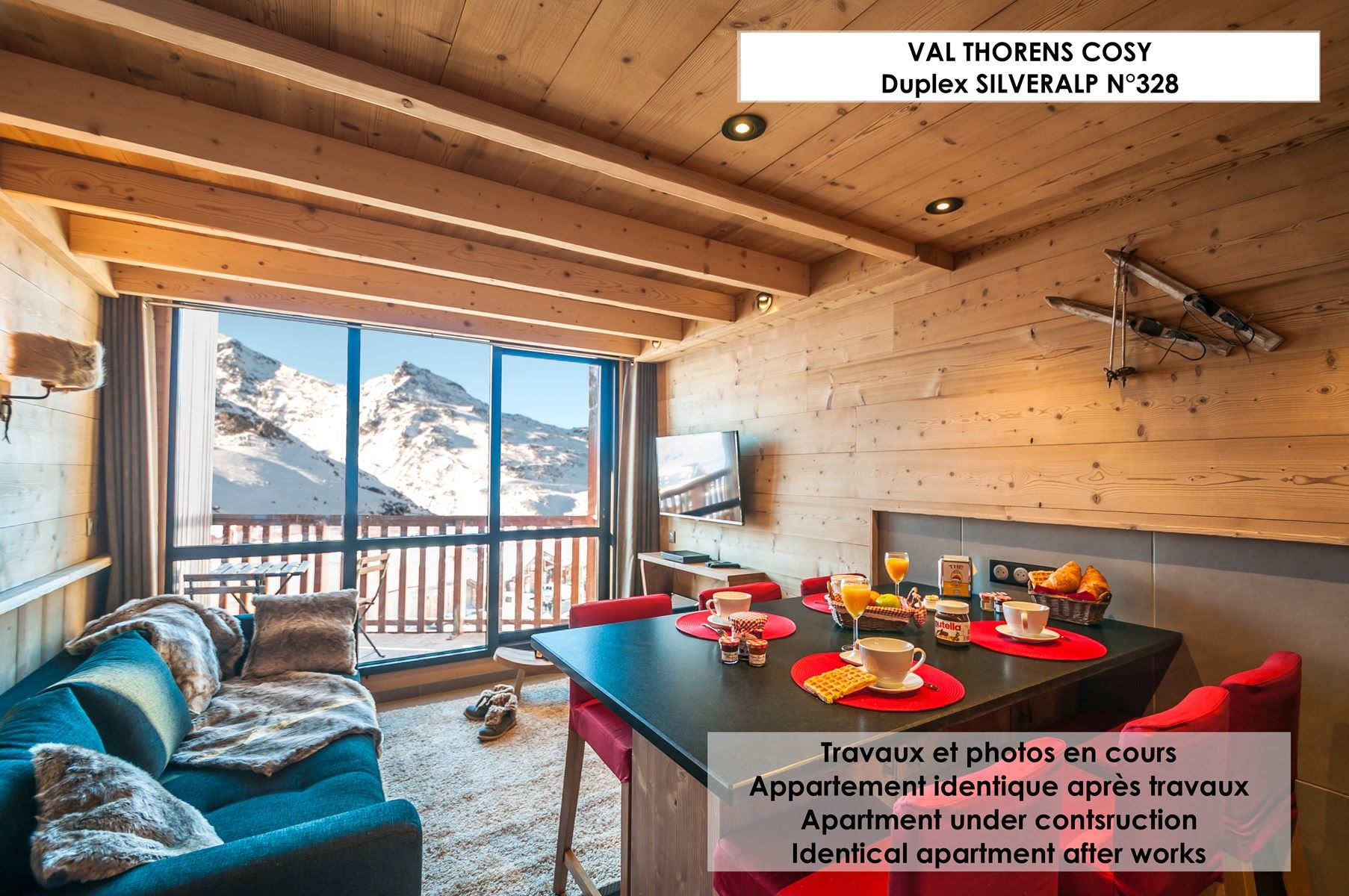 SILVERALP 328 / APPARTEMENT 4 PIECES 6 PERSONNES - 4 FLOCONS OR - ADA