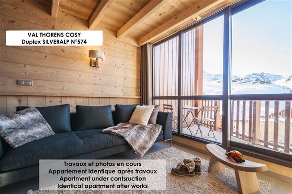SILVERALP 574 / APARTMENT 4 ROOMS 6 PERSONS - 4 GOLD SNOWFLAKES - ADA