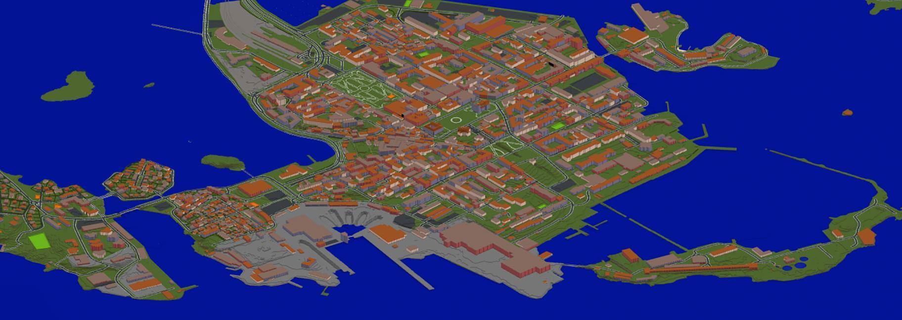 Marinmuseum - Låt ditt barn bygga upp Karlskrona stad