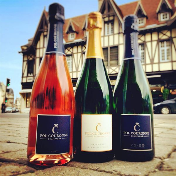 Champagne Pol Couronne - Tasting of 3 champagnes