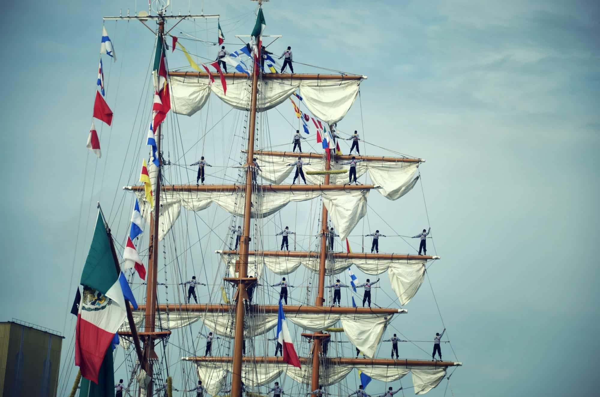 ! COMPLET ! Parade des grands voiliers au Manoir de Villers ! COMPLET !