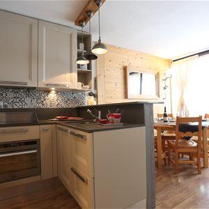 Lauzières 418 > Appartement de 3 pièces - 5 personnes - 3 Flocons Argent (Ma Clé IMMO)