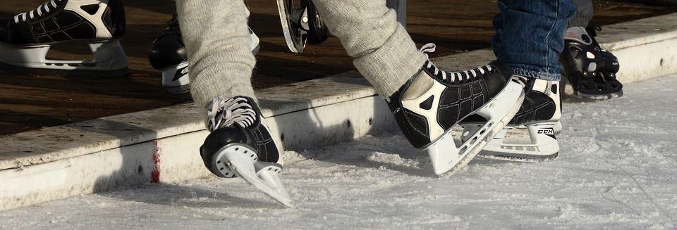 Åk skridskor på Lugnevi