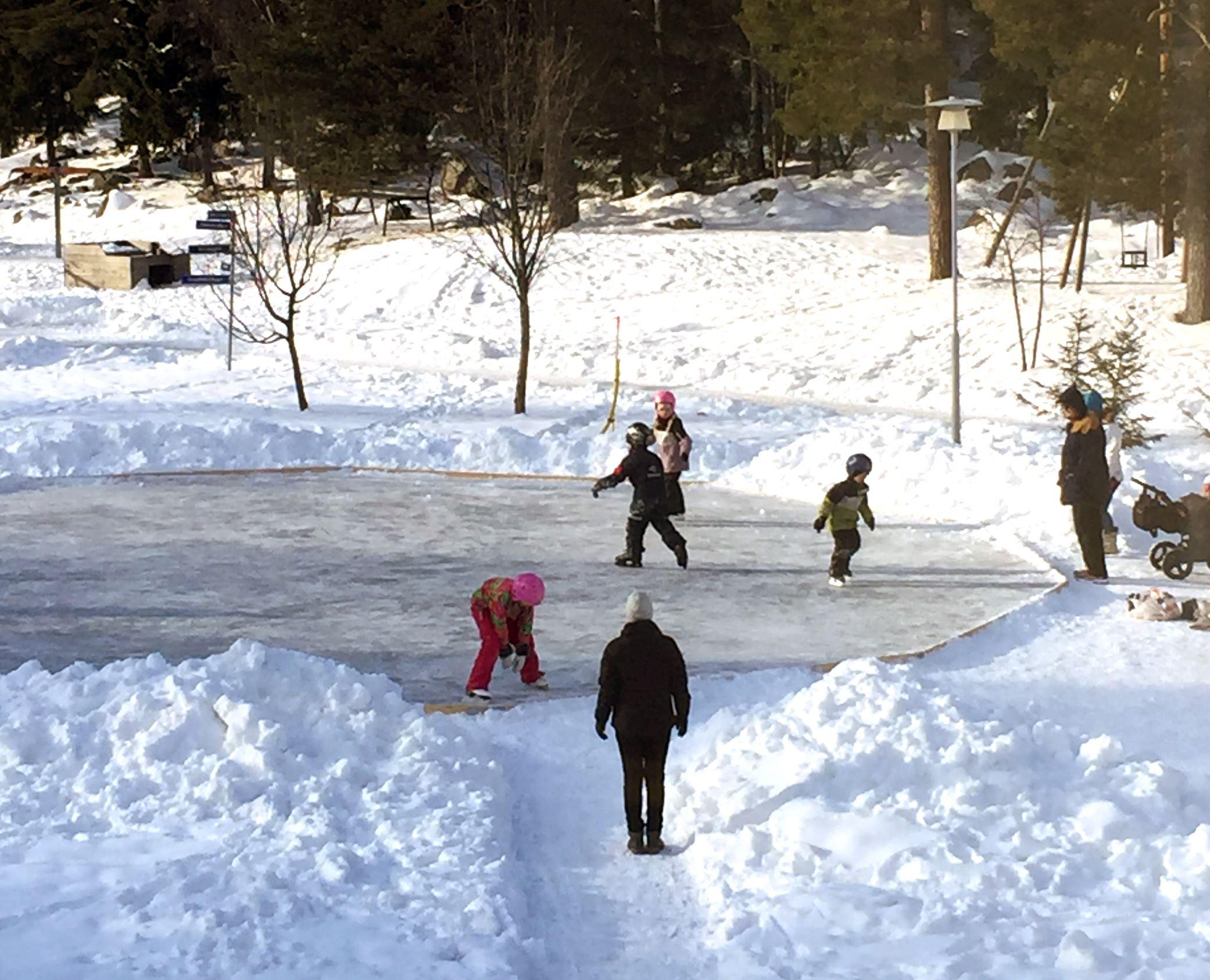 Sportlov på Norra Berget