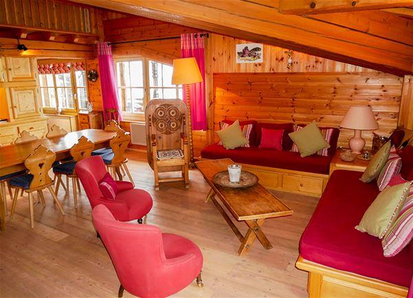 3 pièces 6 personnes skis aux pieds / Appartement La Saulire (Montagne de rêve)