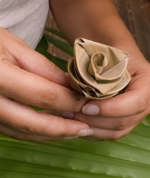 Coconut Palm Weaving