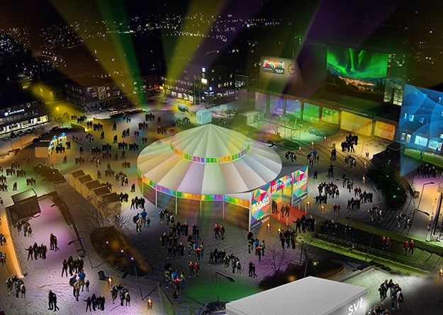 © Nestorville, City Festival - Spegeltältet schedule