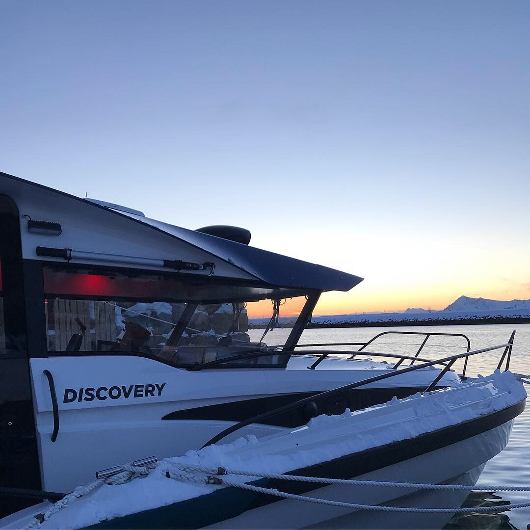 Fisketur med «Discovery»