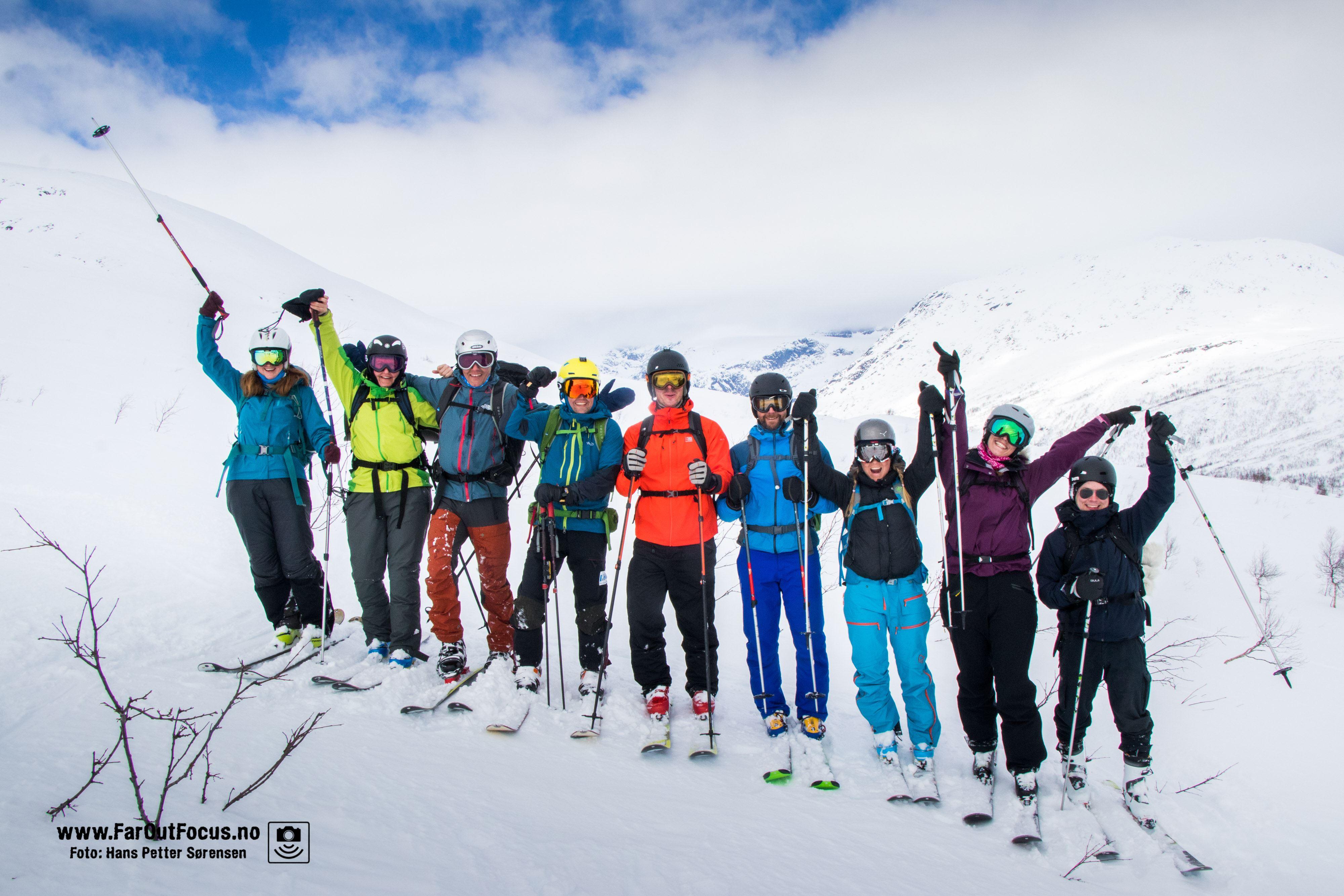 Skiturer med Naturlige Helgeland